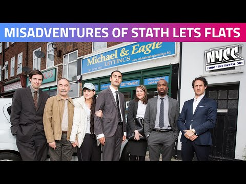 The Misadventures of Stath Lets Flats | Interview with Cast and Crew