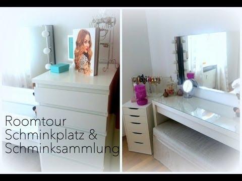 Roomtour ♡ Schminkplatz & Schminksammlung
