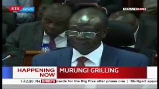 Governor Kiraitu before Senate committee to answer audit queries, clashes with Senator Linturi