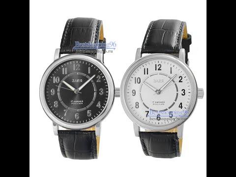 Видео обзор механических наручных часов Заря модели G5181201 и G5183210