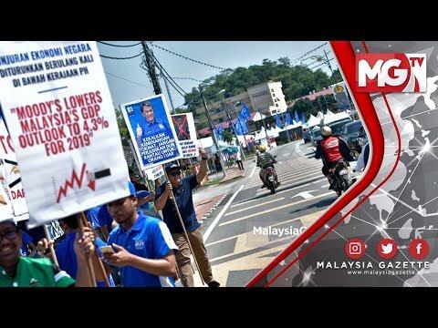 TERKINI : Jentera BN Report Polis! Demontrasi  'flashmob' - PRK Rantau