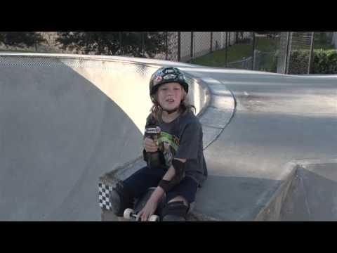 Dunedin has a cool Skate Park!