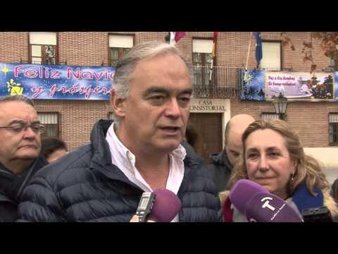 González Pons, de campaña en Marchamalo