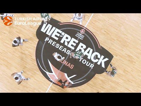 Inside WE'RE BACK Pre-season Tour Kaunas