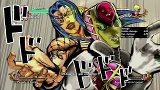 JoJo's All Star Battle: Diavolo Move Set - HD