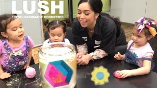 MAKING BATH BOMBS AT LUSH FACTORY! - April 24, 2017 -  ItsJudysLife Vlogs