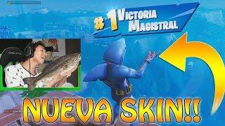 Ganando con la NUEVA skin de TIBURÓN!! - Fortnite