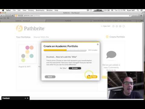 Creating Pathbrite Porfolios