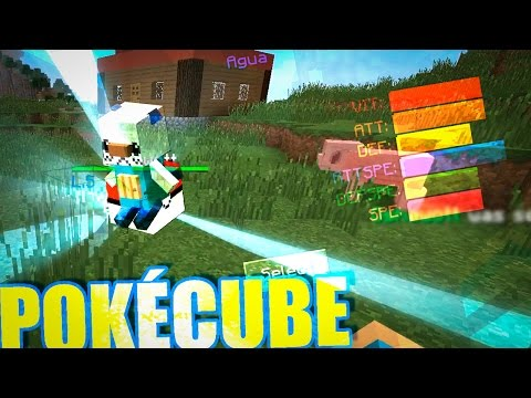 POKÉMON en MINECRAFT 1.10.X - POKECUBE MOD | DESCARGAR & REVIEW | Isman64
