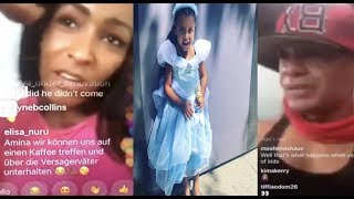 #IDGASN Amina Slams Peter Gunz For not seeing his kids on a regular basis~ Peter GOES OFF!!