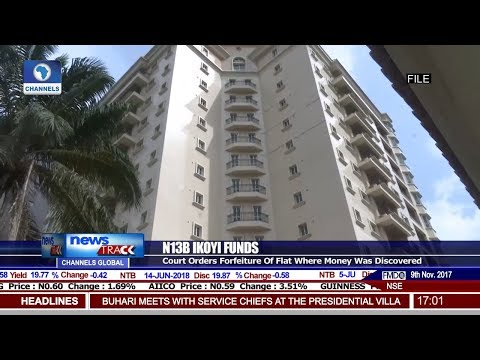 Court Orders Forfeiture Of Ikoyi Apartment Where EFCC Found N13Bn Pt 1 | News@10 |