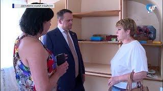 Губернатор Андрей Никитин посетил ряд социальных учреждений в Демянском районе