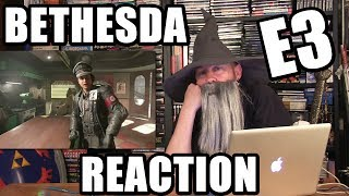 BETHESDA E3 2017 CONFERENCE REACTION - Happy Console Gamer