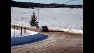 preview picture of video 'Rallye Perce Neige 2010 à maniwaki CRC'