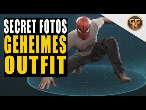 Marvel's Spiderman 4 PS4 Guide - Geheimer ESU Anzug - Alle geheimen Foto Orte