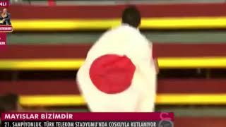 Yuto Nagatomo Samuray Şov - Galatasaray 21. Şampiyonluk Kutlamaları