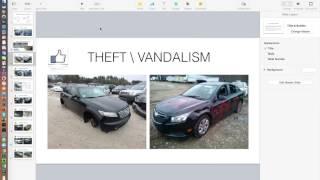 2.3 Вандализм и авто после угона (покупаем авто на аукционе Копарт)