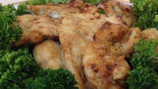 Куриная Грудка под Медово - Горчичным Соусом