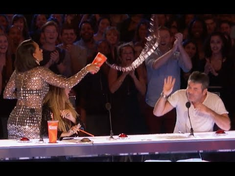 Don't Mess With Mel B, Simon! | Week 5 | America's Got Talent 2017 (видео)