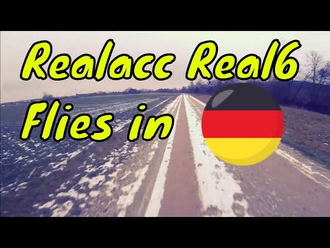 Realacc Real6 Flying Footage from Germany