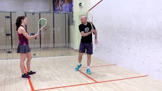 Squash tips: Back corners coaching session with Jesse Engelbrecht - Digging out