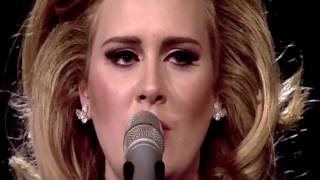 Adele Rolling In The Deep Live Brit Awards 2012 Grammys Rumor Has It Set Fire To The Rain Concert