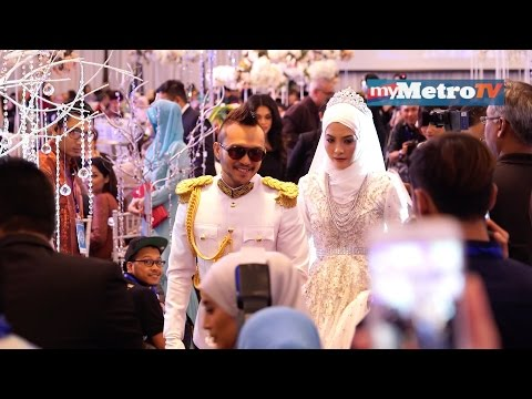 Majlis resepsi Shaheizy Sam dan Syatilla Melvin di Kuala Lumpur