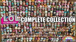 LOL Surprise COMPLETE COLLECTION: ALL SERIES | L.O.L. Full Set Series 1 2 3 4 Big Glam Glitter