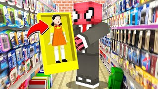 SQUID GAME OYUNCAĞI SATIN ALDIM - Minecraft