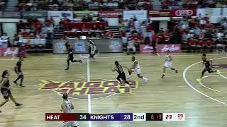 Saigon Heat v BTN CLS Knights Indonesia | CONDENSED HIGHLIGHTS | 2018-2019 ASEAN Basketball League