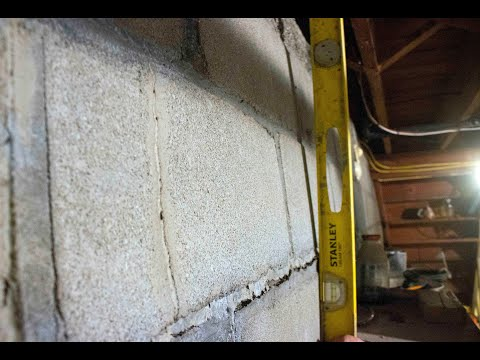 Foundation Wall Repair in Colchester, Vermont, by Matt Clark's Northern Basement Systems.