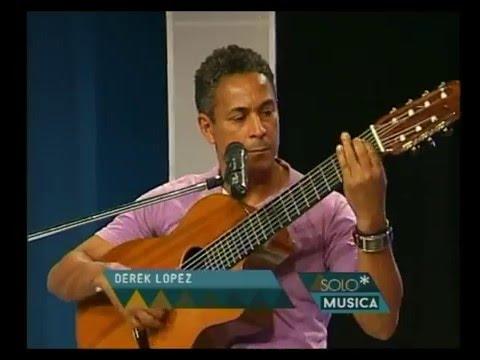 Derek López video Entrevista + Canciones - Estudio CM 2016