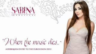 "Səbinə Babayeva ""When the music dies"" (Eurovision Song Contest 2012)"