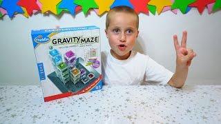 Гравити мэйз- задачки для ума! Gravity Maze form Think Fun.