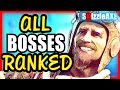 ALL COD ZOMBIE BOSSES RANKED! From Worst Zombie Bosses to Best ZOMBIES B...