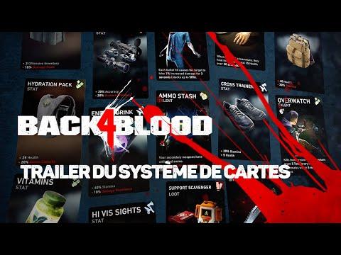 Présentation du système de cartes de Back 4 Blood