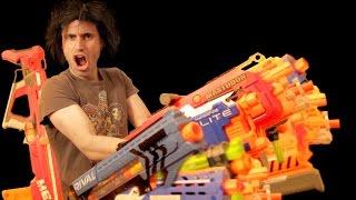 Baddest NERF Loadout | Gun Vs Gun