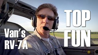 TOP FUN in an RV-7A from Van's Aircraft!