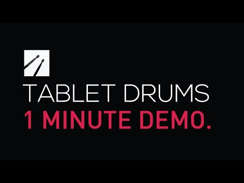 Video of Tablet Drums