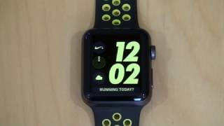 Apple Watch Nike+ Series 2 Unboxing and Fixing Setup Problems