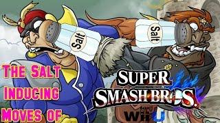 Salt Inducing Moves of Smash 4 (Part 1)
