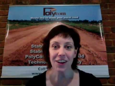 PolyCom Stabilising Aid  Road Application Description