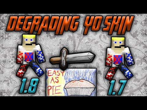 Minecraft] How to Transform 1 7 Skins in 1 8 Skins