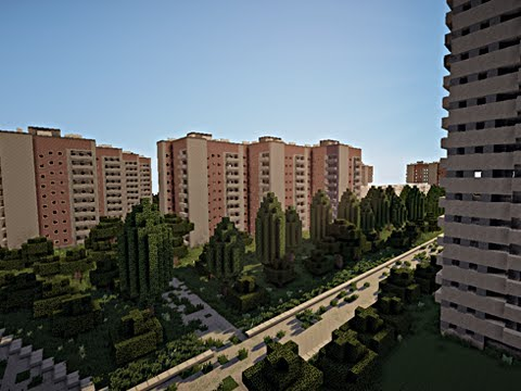 50,000 People Used To Live Here, Now It's A Minecraft Town