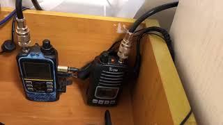 【デジタル簡易無線】 フレンド局と交信 DCR ながのDE10局 ライセンスフリー無線