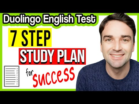 7 Step Study Plan - Duolingo English Test - YouTube