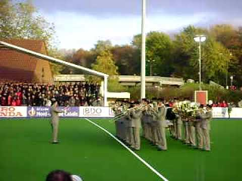 National Anthem of Pakistan by French army band.