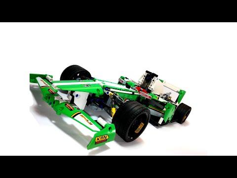 Vidéo LEGO Technic 42039 : La voiture de course des 24 heures