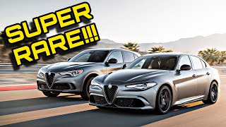 New Giulia And Stelvio NRING Limited Editions Might Be Very Difficult To Buy