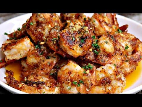 Quick and Easy Garlic Butter Shrimp Recipe | Garlic Shrimp Recipe